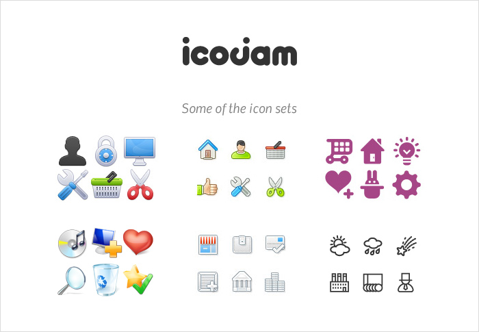 Icojam stock icons shop