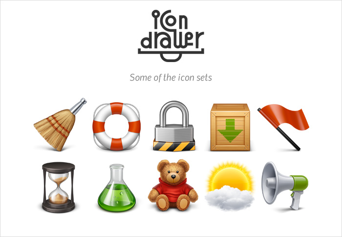 icondrawer stock icons shop