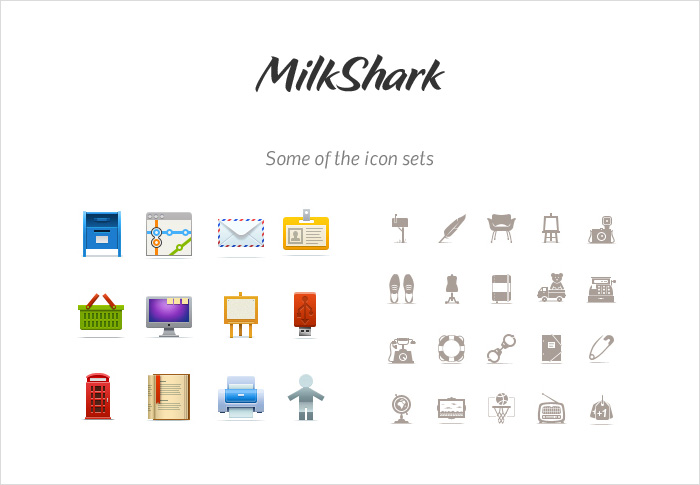 milkshark stock icons shop