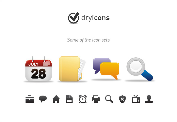 dryicons stock icons shop