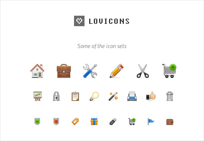 lovicons stock icons shop