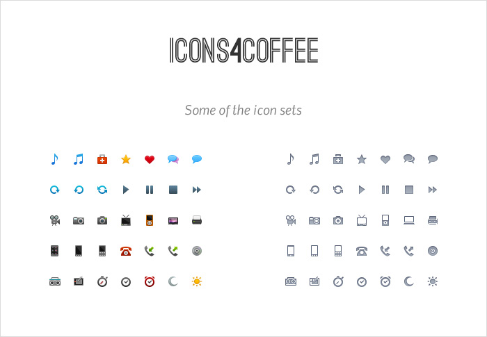 icons4coffee stock icons shop