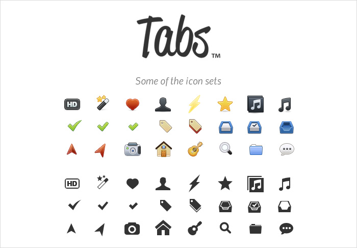 tabsicons stock icons shop