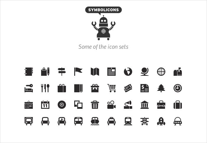symbolicons stock icon shop
