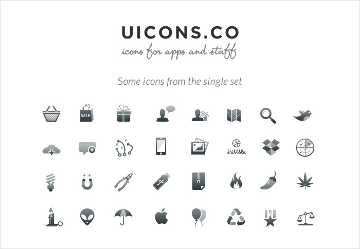 uicons stock icons shop