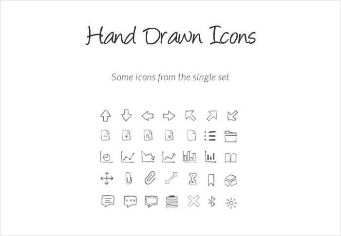 hand drawn icons stock icon shop