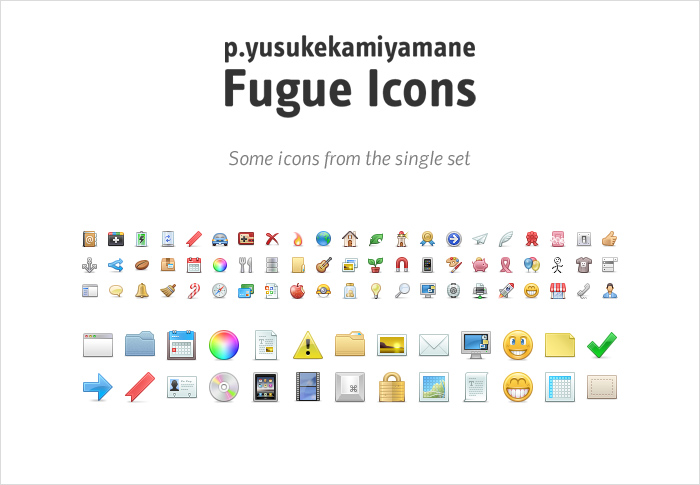 Fugue icons stock icons shop