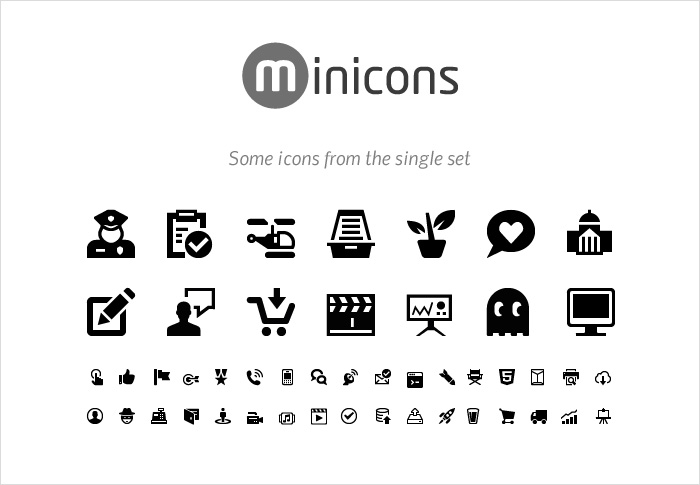 Minicons stock icons shop