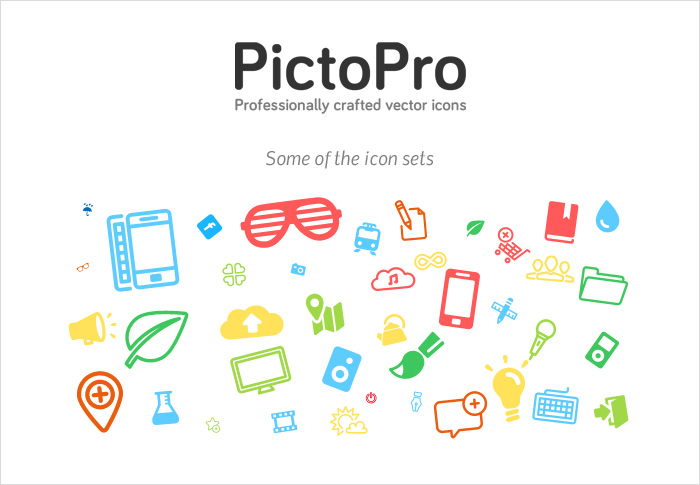 Pictopro stock icons shop