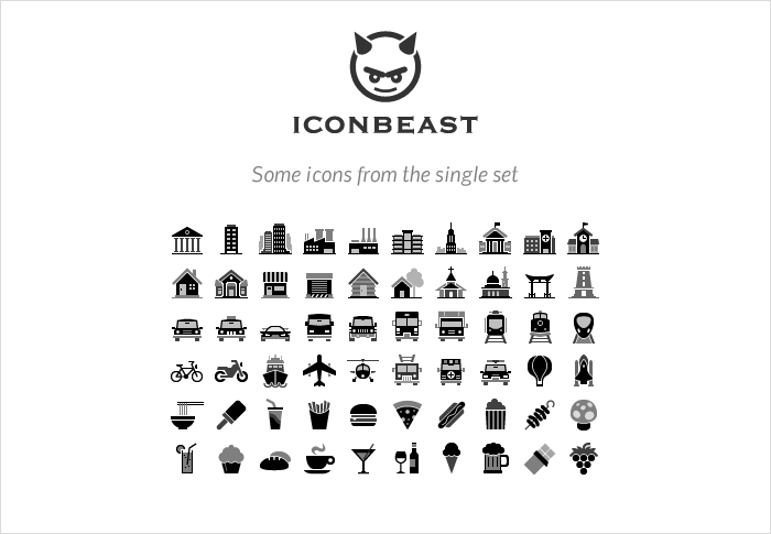 IconBeast stock icons shop